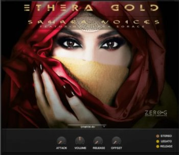 Библиотека сэмплов - Zero-G ETHERA Gold Sahara Voices (KONTAKT)